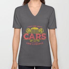 Car Guy Novelty print for car lovers mechanics Unisex V-Neck