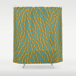fall flow Shower Curtain