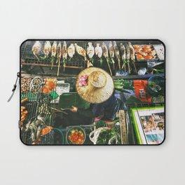 Bangkok Street Food Laptop Sleeve