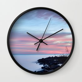 blue dawn Wall Clock