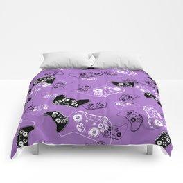 Video Game Lavender Comforters
