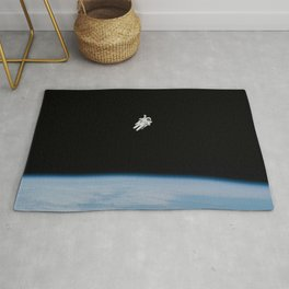 Space Walk Exploration Rug