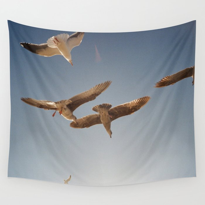 Bird Dance Wall Tapestry