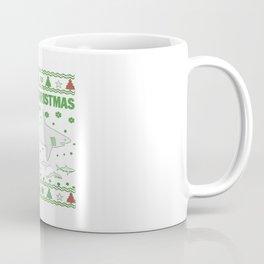 Shark Christmas Coffee Mug