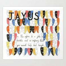 Jayus Art Print