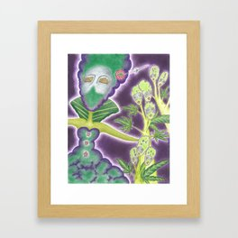 Meditative Mama Series~ Phantom~ Framed Art Print