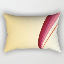 Flame Lily Rectangular Pillow