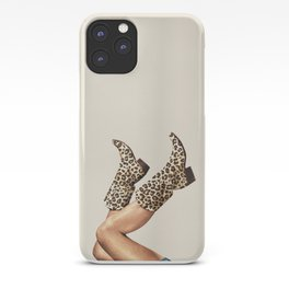 These Boots - Leopard Print iPhone Case