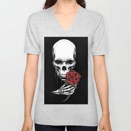 romantic skull Unisex V-Neck