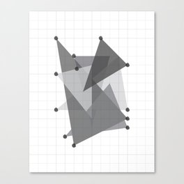 Galaxy Polygons XXIV Canvas Print