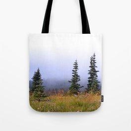 High Upon A Mountain Tote Bag