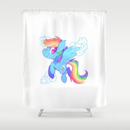Speedster Shower Curtain