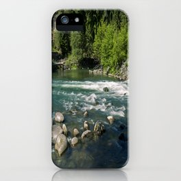 Swift River iPhone Case
