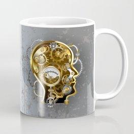 Steampunk Head with Manometer Coffee Mug