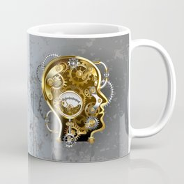 Steampunk Head with Manometer Coffee Mug
