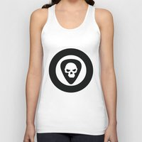 punk rock Tank Tops featuring Punk, Rock & Ska by Howiesgraphics
