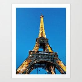 Eiffel Tower Sparkle Kunstdrucke