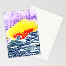 here comes the sun II Stationery Cards