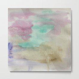Emulsion - Watercolor Painting Metal Print