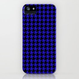 Yellow Houndstooth iPhone Case