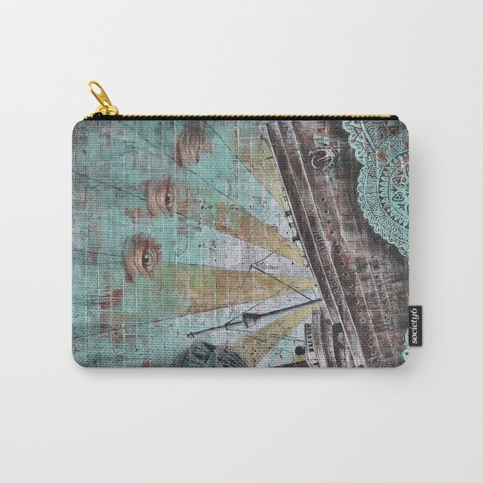 the boat wall Carry-All Pouch