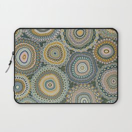 Boho Patchwork-Mineral Colors Laptop Sleeve