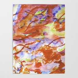 Infinity Abstract Poster