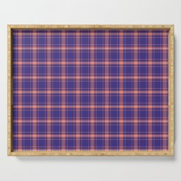 Plaid No. 28 Serving Tray