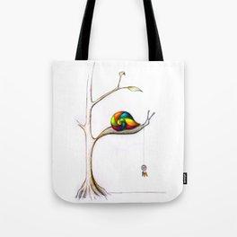 Treesnail Tote Bag