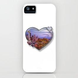 I Love Seattle iPhone Case