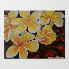Island Blooms Canvas Print