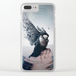 This bird that sings with its feathers by GEN Z Clear iPhone Case