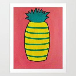 Pineapple Itself Art Print