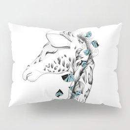 Poetic Giraffe Pillow Sham