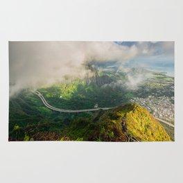 Stairway to Heaven, Hawaii Rug