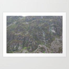 Wales Landscape 12 Cader Idris Art Print