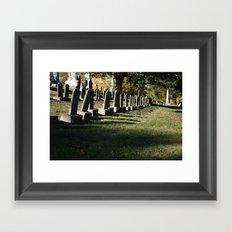 Cave Hill Framed Art Print