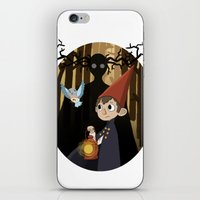 over the garden wall iPhone & iPod Skins featuring Over The Garden Wall by Lockholmes