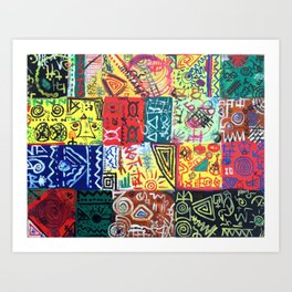 Summer Print Art Print