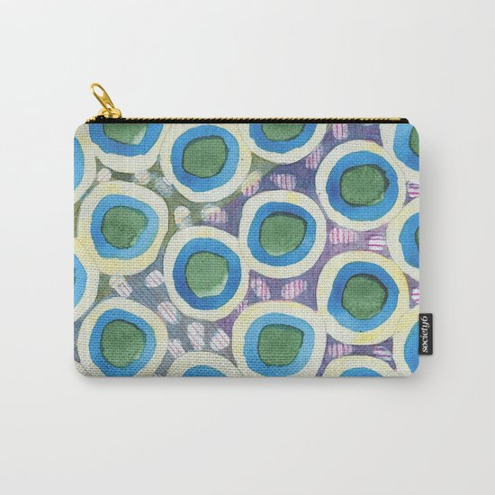 Four Directions Dot Pattern Carry-All Pouch