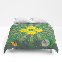 Dandelion Cycle Comforters