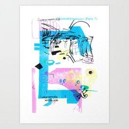 Biomathématiques (Paris 7) Art Print
