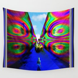 """""""The Return of Colors"""" by surrealpete Wall Tapestry"""