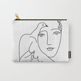 Picasso Dove Peace Women Carry-All Pouch