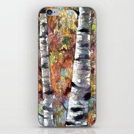 Aspen Trees Panorama iPhone Skin