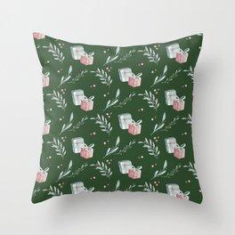 Holidays pattern 6 Throw Pillow