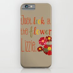 Just Look at the Flowers Lizzie iPhone 6s Slim Case