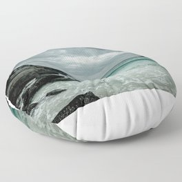 Tides of Time Floor Pillow