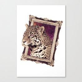 Space Jaguar Canvas Print