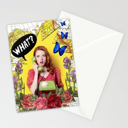WHAT Stationery Cards